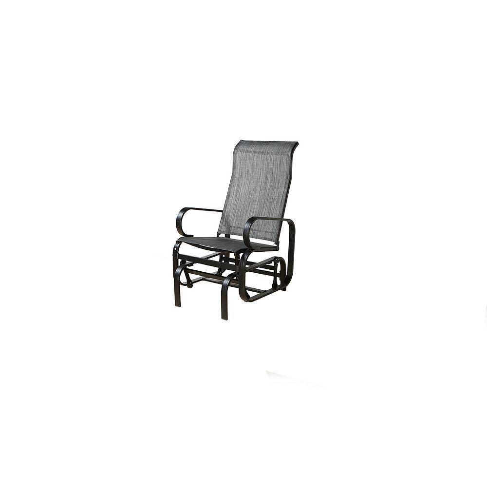 Sojag Bahia Patio Rocking Chair in Charcoal