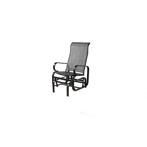 Bahia Patio Rocking Chair in Charcoal