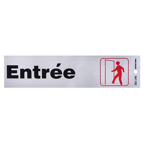 Hillman 2X8 SIGNS - ENTRÉE (Entrance Sign)