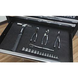 15.2-inch x 140-inch Premium Solid Drawer Liner in Black