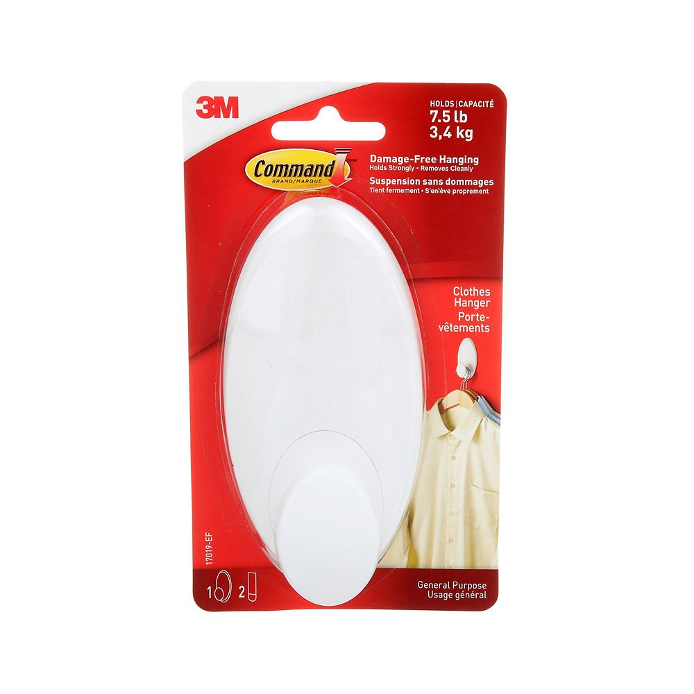 Command Clothes Hanger, 17019-EF, white