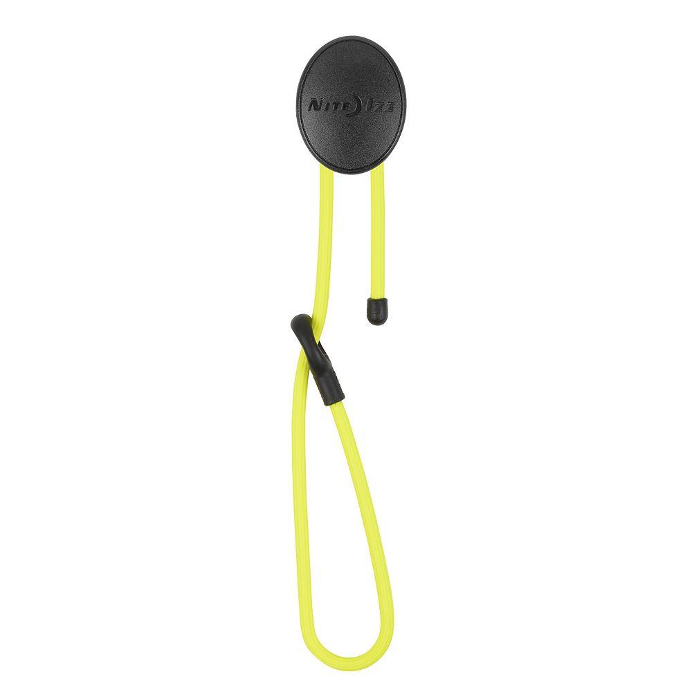 Nite Ize Gear Tie Dockable 24 Inch. Neon Yellow