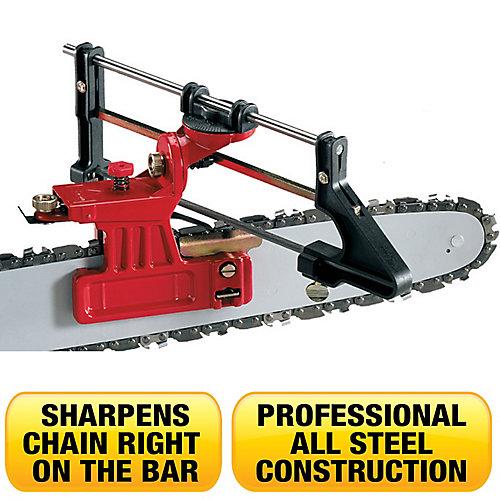 Affûteuse pour scies à chaîne pour professionnels