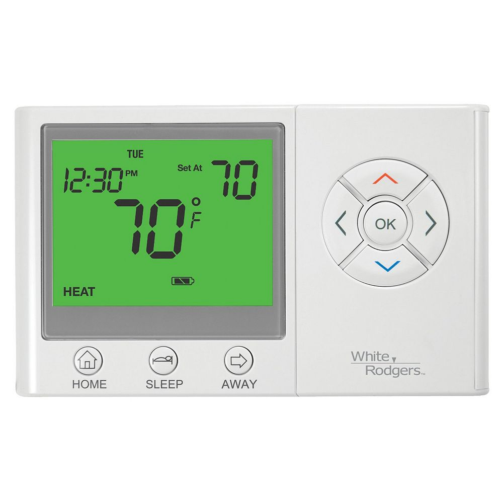 White-Rodgers WR Universal 7-Day Programmable W/ Home/Sleep/Away Thermostat
