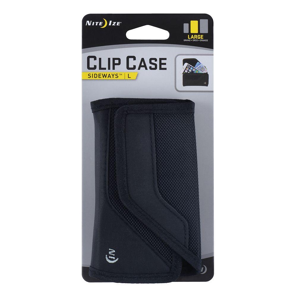 Nite Ize Clip Case Cargo Sideways Large Black