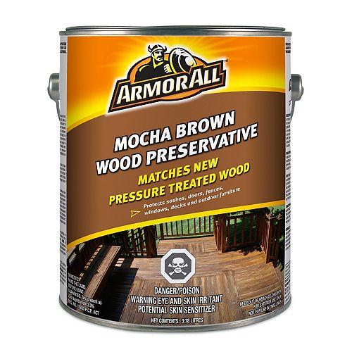Mocha Brown Wood Preservative 3.78L