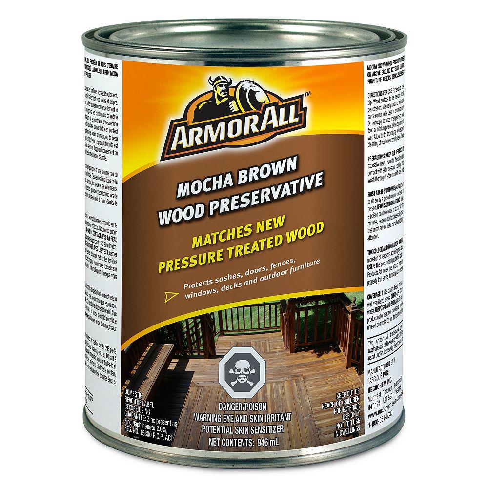 Armor All Mocha Brown Wood Preservative 946 mL