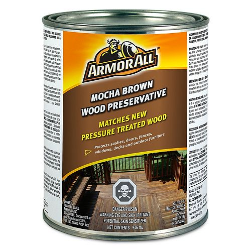Armor All Mocha Brown Wood Preservative 946 mL