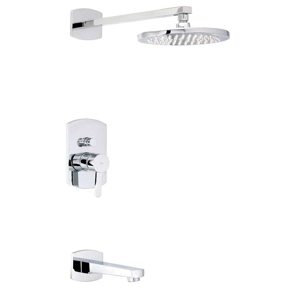 JALO Waven Shower Faucet in Chrome