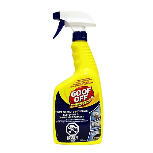 Goof Off Power Cleaner/Degreaser FG686 946ml