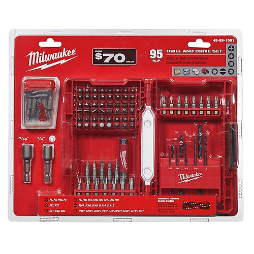 95-Piece Drill and Drive Set