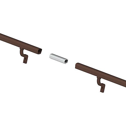 Kit de rampe aluminium de 8 pi. - aluminium bronze
