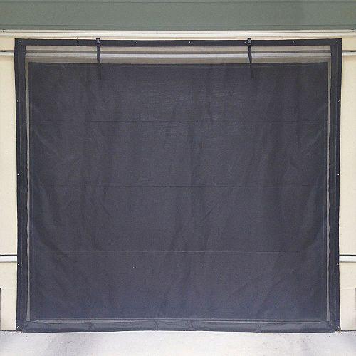 Porte moustiquaire de garage