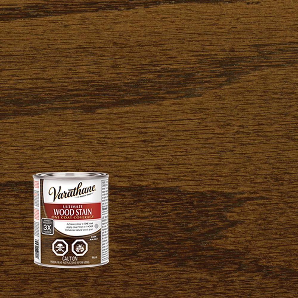 Varathane Ultimate Oil-Based Interior Wood Stain in Dark Walnut, 946 mL