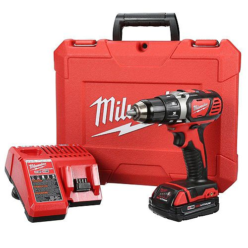 Milwaukee Tool Ensemble de perceuse/visseuse compacte M18MC de 1/2 po