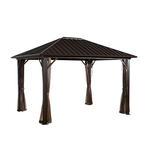 Genova 10 ft. x 12 ft. Sun Shelter