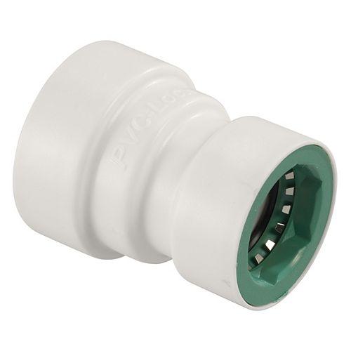 Orbit 3/4-inch x 1/2-inch PVC-Lock Coupling