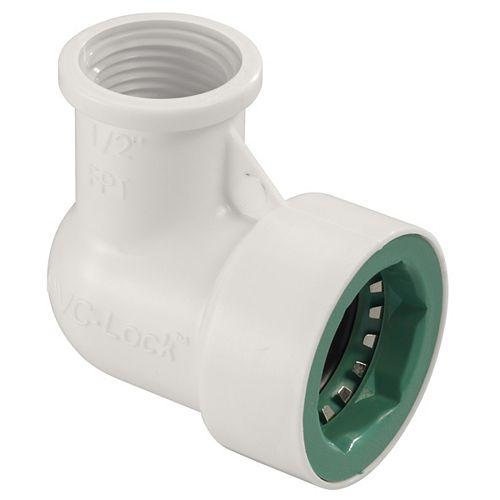 Orbit 1/2-inch PVC-Lock x 1/2-inch FPT Elbow