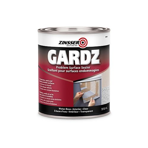 Gardz Problem Surface Sealer for Water Base Interior Clear, 916 ml