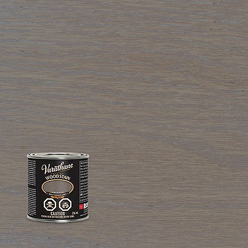 Varathane Premium Oil-Based Interior Wood Stain in Weathered Grey, 236 Ml