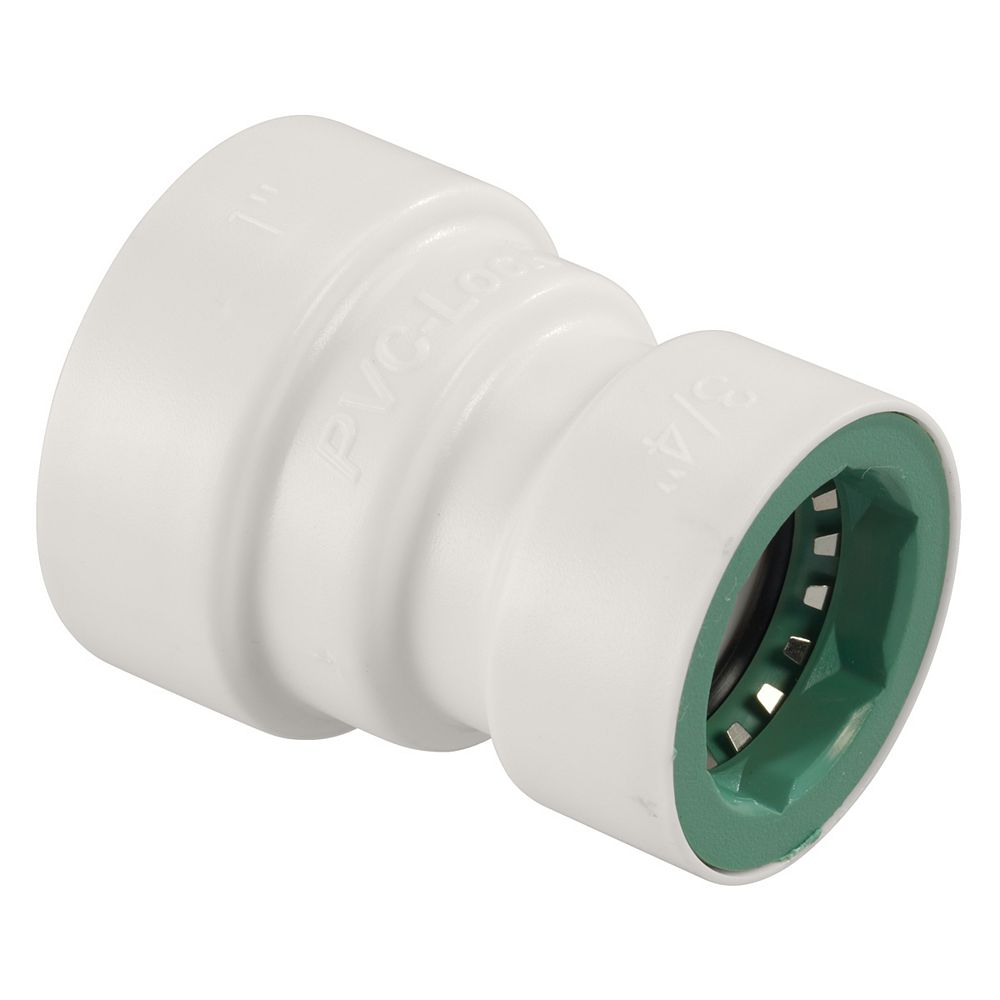 "Orbit 1"" x 3/4"" PVC-Lock Reducer Coupling"