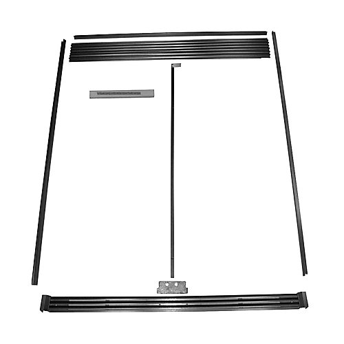 SideKicks Refrigerator and Freezer Trim Kit in Stainless Steel