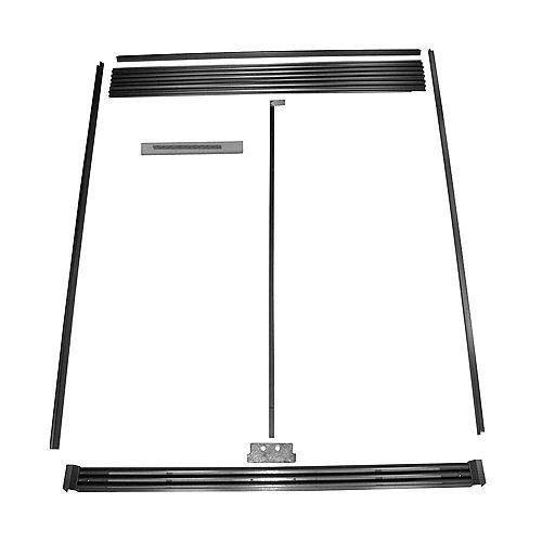 SideKicks Refrigerator and Freezer Trim Kit in Stainless Steel