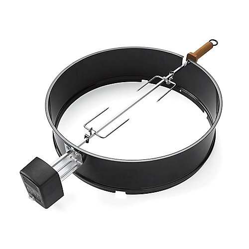 Electric Charcoal Rotisserie Kit for One-Touch Kettle Grills