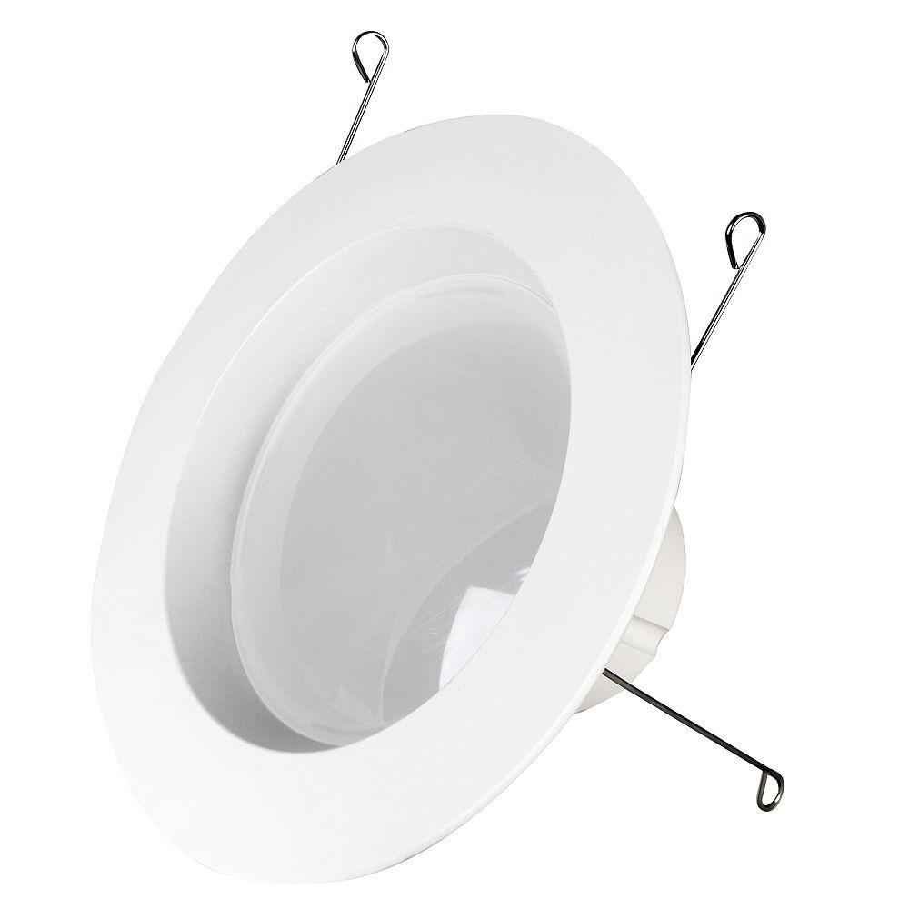 Feit Electric Équivalant à une ampoule de 75W blanc chaud de 12/15cm (5/6po) Ensemble de modernisation à DEL intelligent compatible Bluetooth, réglable avec l'application HomeBrite