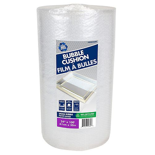 Bubble Wrap 3/16 inch x 24 inch x 100 ft.
