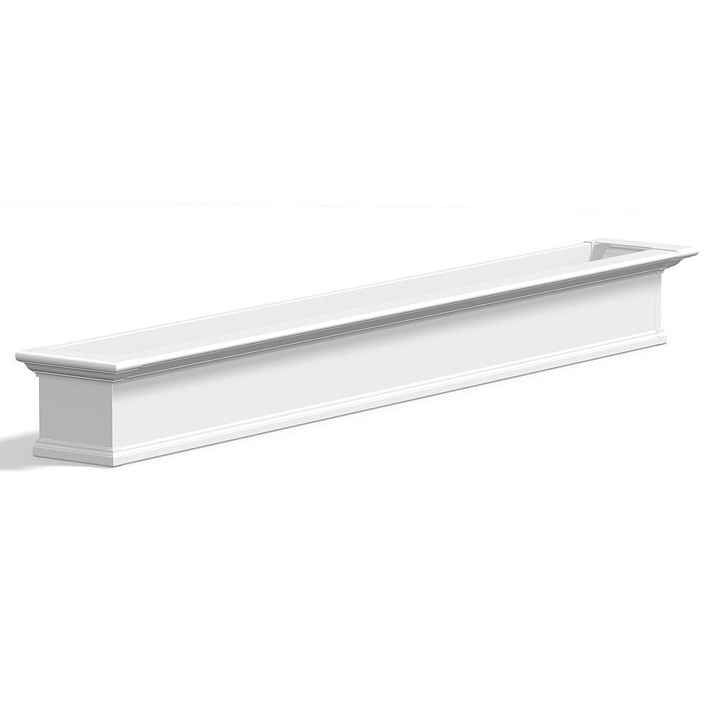 Mayne Yorkshire Window Box 8FT - White