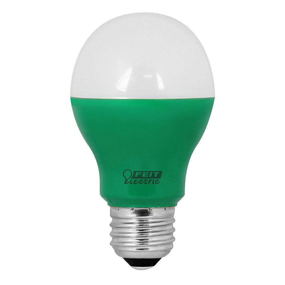 Feit Electric LED 40w A19 Green Non-Dimmable