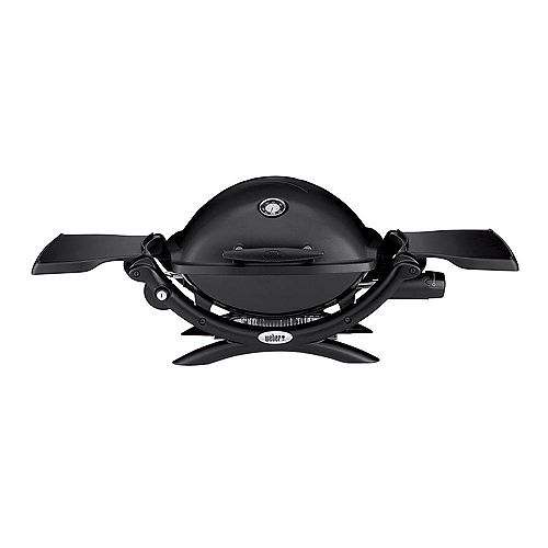 Q 1200 Portable Liquid Propane BBQ in Black