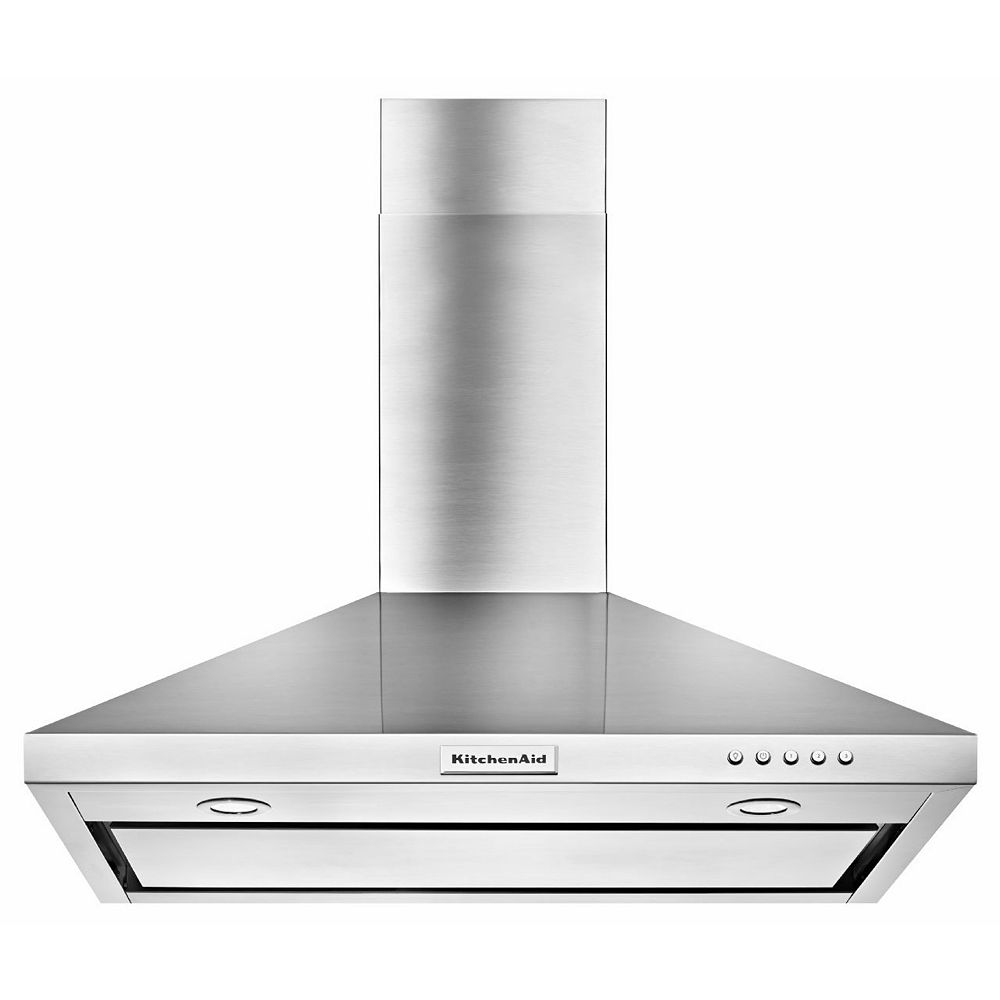 KitchenAid 30-inch Wall Mount Range Hood in Stainless Steel