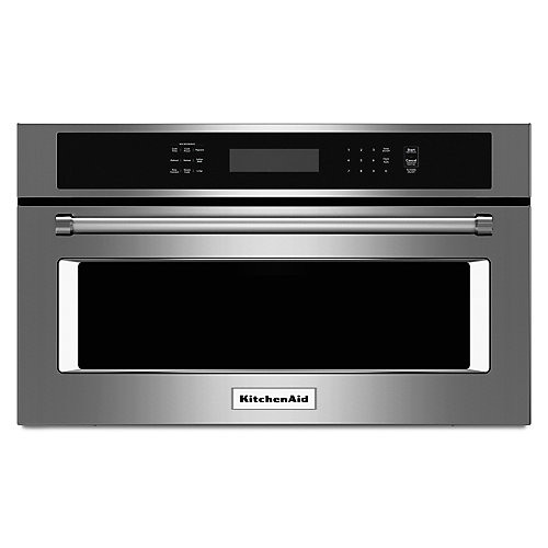 27-inch 1.4 cu. ft. Built-In Microwave with Convection in Stainless Steel