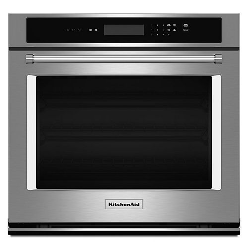 30-inch 5.0 cu. ft. Single Electric Wall Oven Self-Cleaning in Stainless Steel