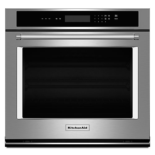 27-inch 4.3 cu. ft. Single Electric Wall Oven Self-Cleaning in Stainless Steel