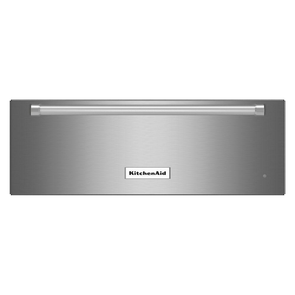 KitchenAid 27 In. Slow Cook Warming Drawer, Stainless Steel - KOWT107ESS