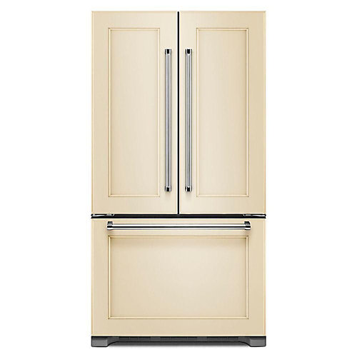 36-inch W 21.9 cu. Ft. French Door Refrigerator in Panel Ready, Counter Depth