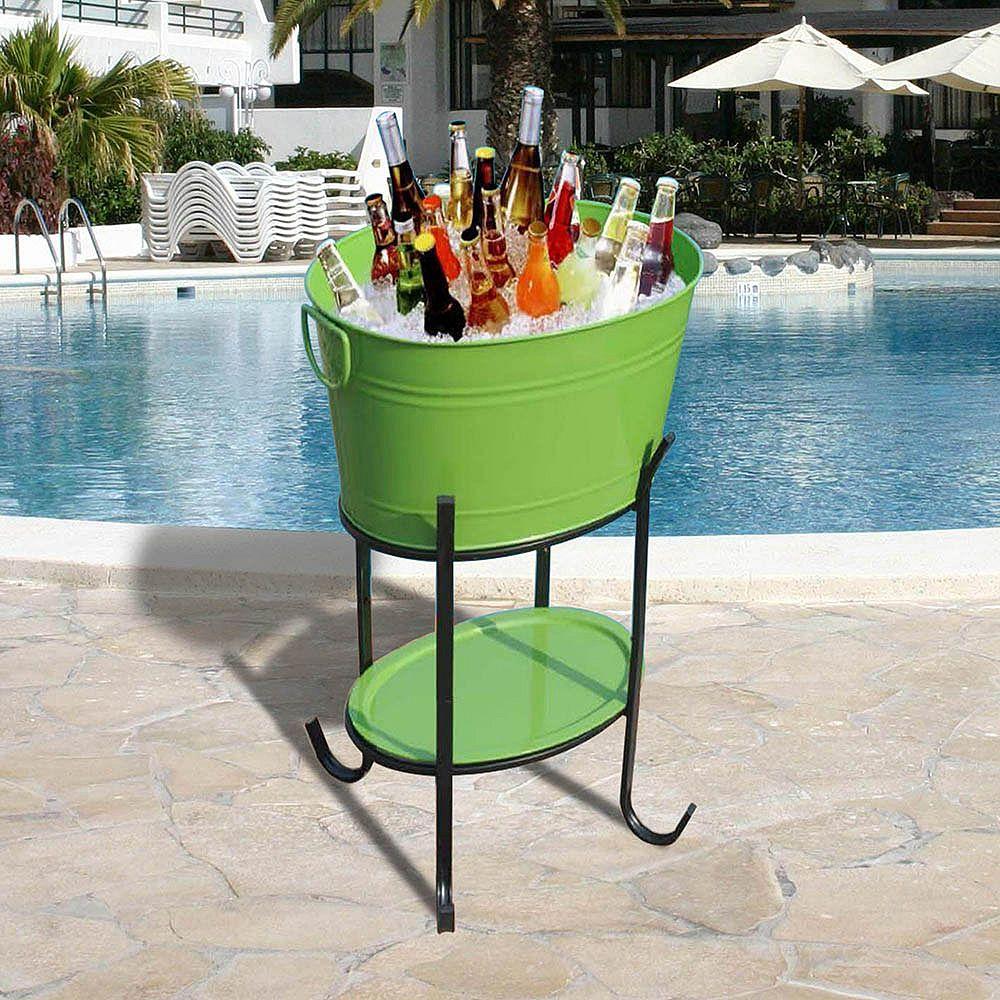Sunjoy Capri baignoire ovale de parti vert