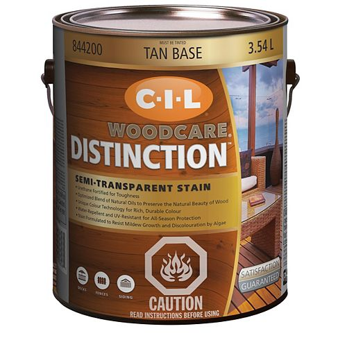 Distinction Semi-Transparent - Tan Base 3.54 L-844200