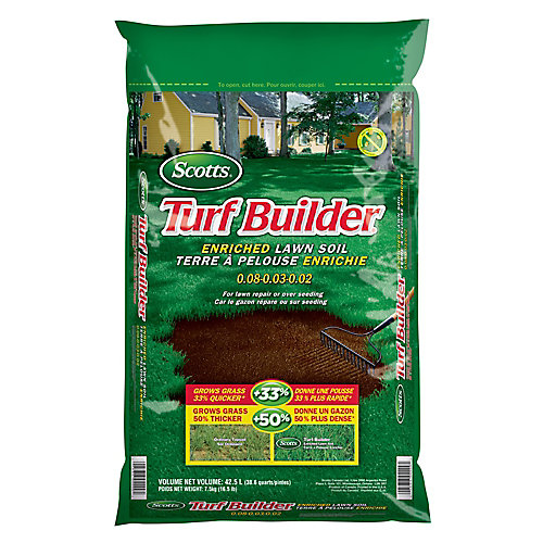 Turf Builder 42.5L Enriched Lawn Soil