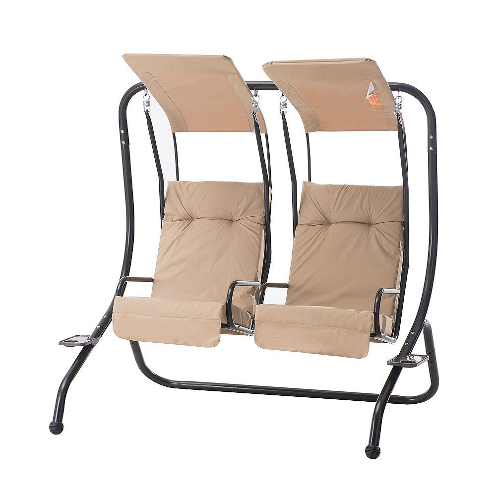 Sunjoy Sunway 2-Seat Patio Swing