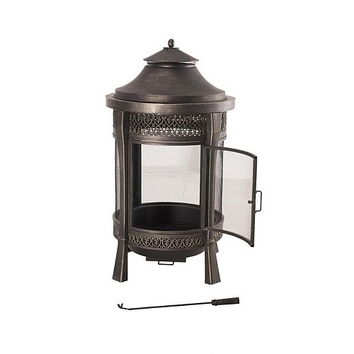 Michele Cast Outdoor Fireplace