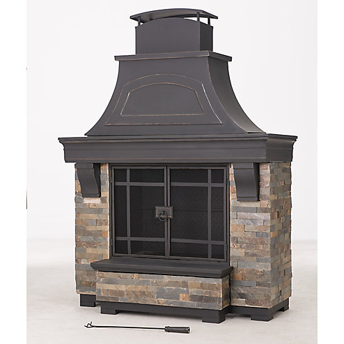 Sanctuary Outdoor Fireplace