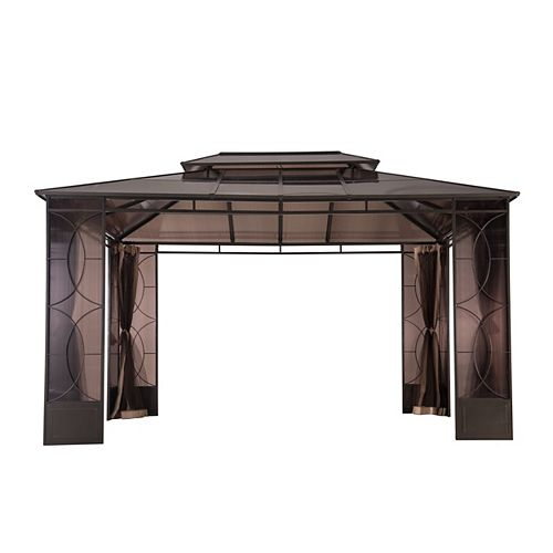 Reflections 10 ft. x 14 ft. Gazebo with Vented Canopy