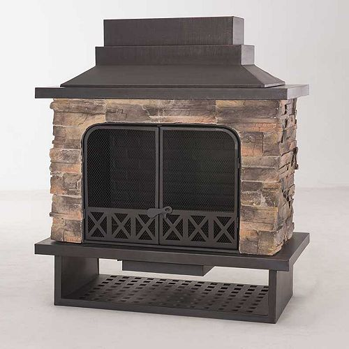 Huntsville Outdoor Fireplace