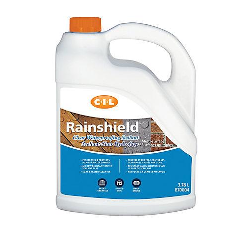 Rainshield Scellant hydrofuge transparent multisurface 3.78L-870004