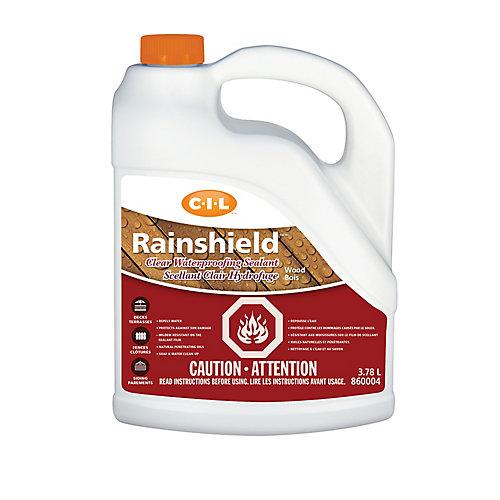 Rainshield Scellant hydrofuge transparent pour bois 3.78L-860004