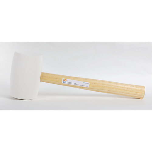 32oz White Rubber Mallet